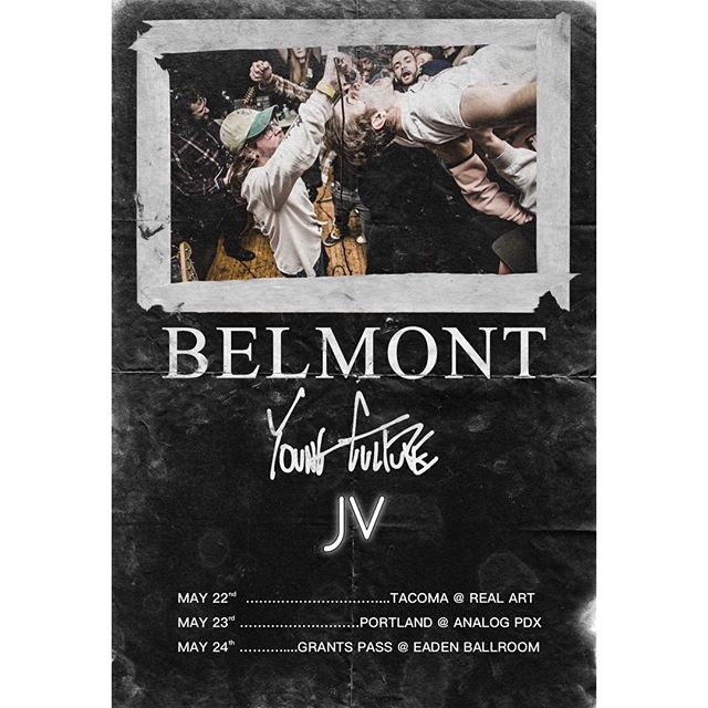 Stoked to announce that we're joining our homies in @belmontmusic & @youngcultureny on tour next month! 👌🏻 . . . . . #poppunk #seattle #portland #music #welcometothedoghouse #jvband
