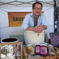 David at the farmers market
