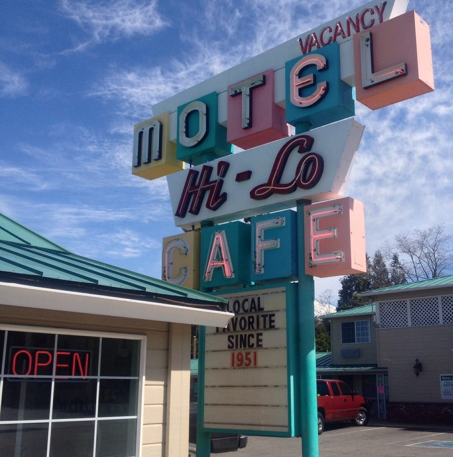 The Hi-Low Cafe serves breakfast all day!