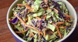 Lindsay Budner's  Avocado Coleslaw   vegan + GF