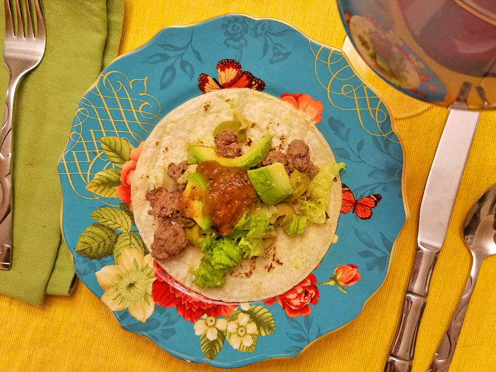 Soft-shell Street tacos - A variety of ingredients make this a meal that everyone can enjoy!