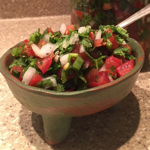 fresh made  Pico de Gallo
