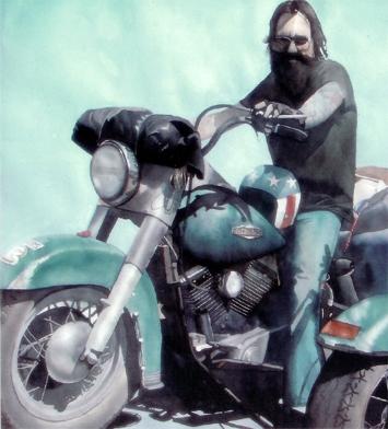 Biker - Brenda Eastman 1991