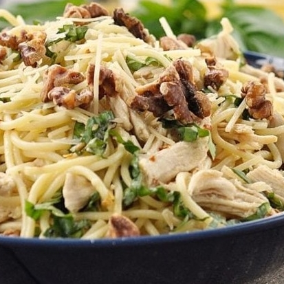 Denise Spayd's  favorite Chicken, Pear & gorgonzola pasta