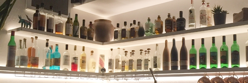 Támal has a large selection of tequila and Mezcal and a specialty cocktail menu.