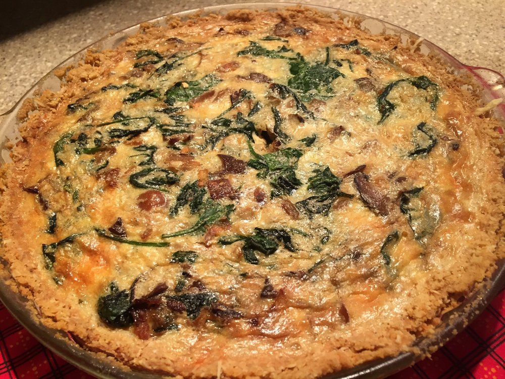 Quiche 2 - Another beautiful Quiche and the crust was perfect!