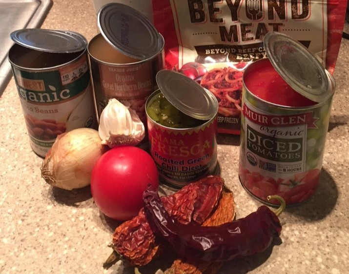 Ingredients for Open a Can Chili  link to the recipe below