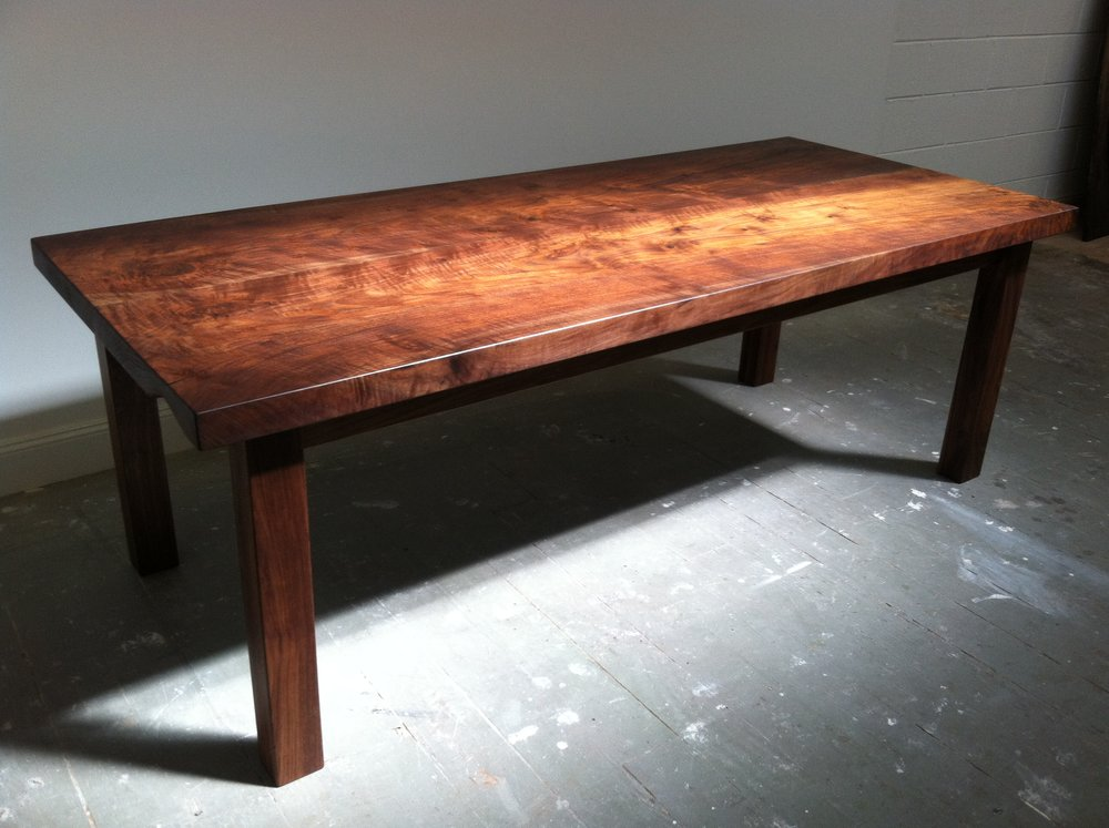 Californian claro walnut table