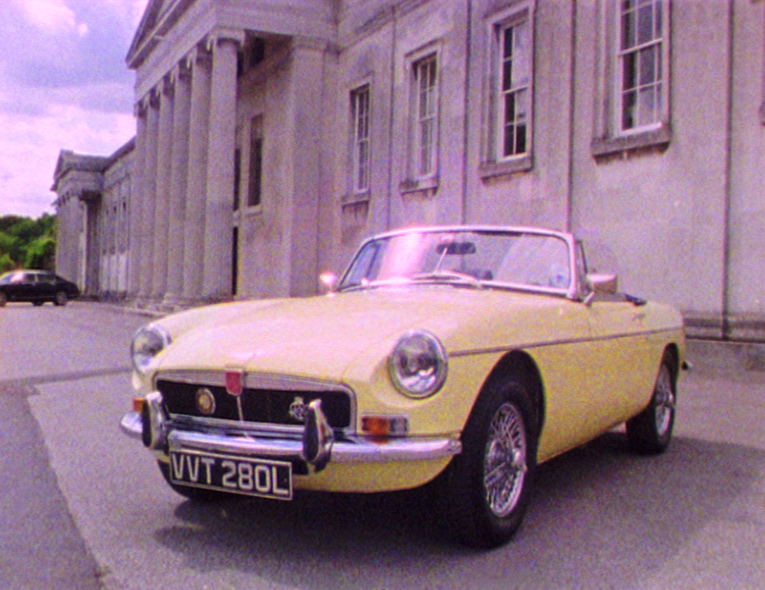 Super 8 Wedding.MG Wedding Car.jpg