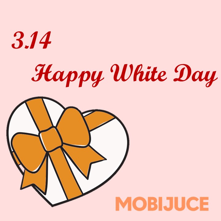 Today is Pi Day, as well as the White Day!! Have you prepared surprises with your beloved one yet? Find the nearest JuceBox to rent a JucePac if your phone runs out of battery during the celebration!