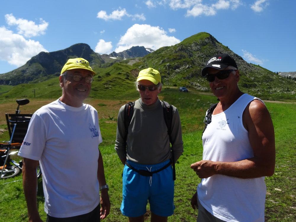 Le parcours 7 : 'Lac Cornu-Forclaz'