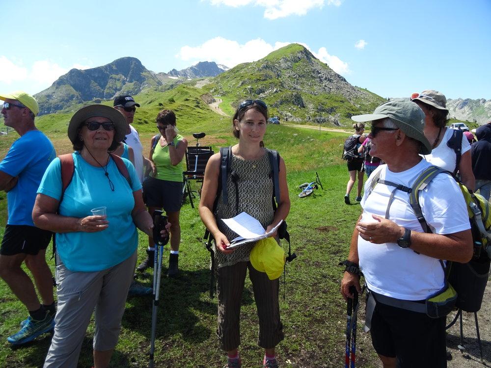 L'arrivée du parcours 3 : 'Marlhonais/Ecologie'