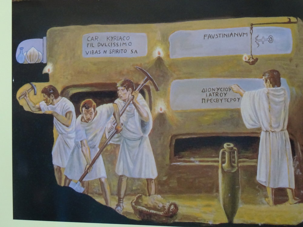 Visite des Catacombes S. Callisto