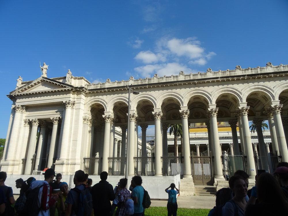 Visite de la basilique St Paul hors les murs