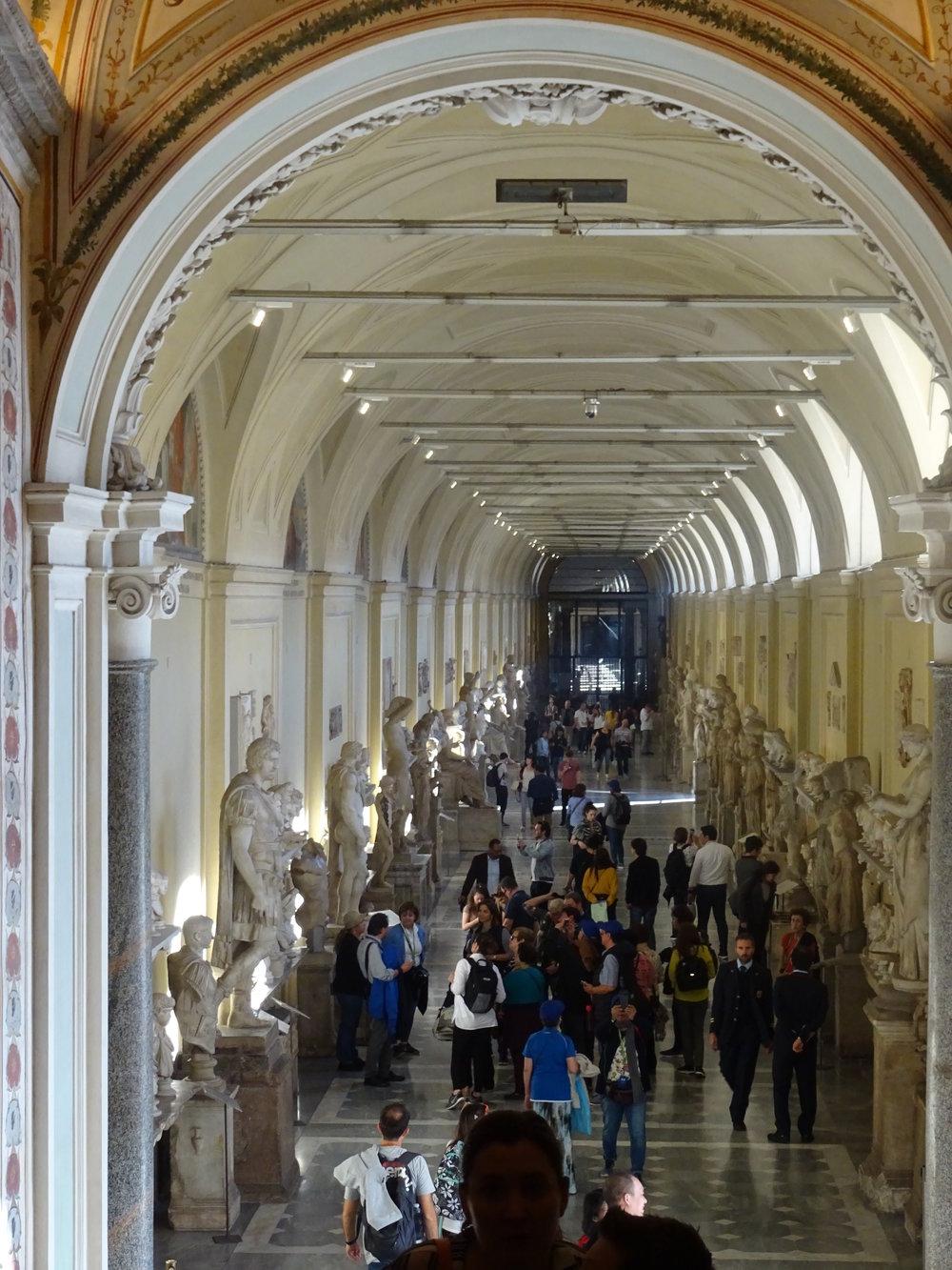 Visite du musée du Vatican