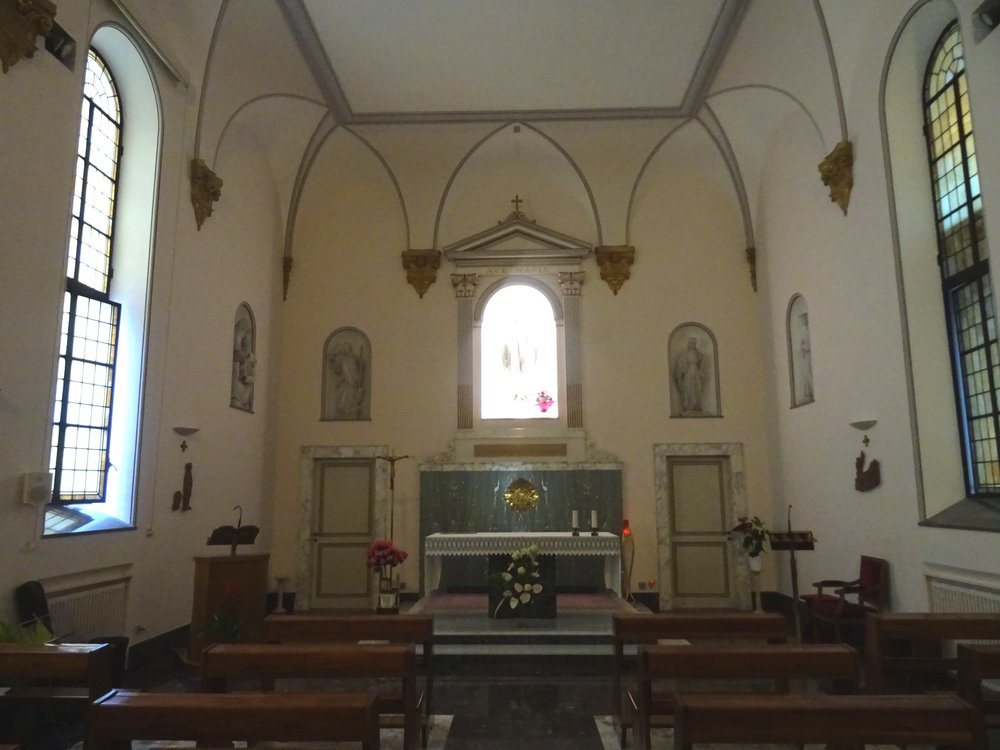 Chapelle Ste Marie Majeure, du lieu d'hébergement.