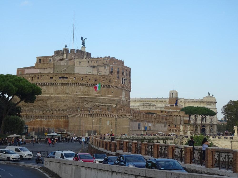 Le château Saint Ange