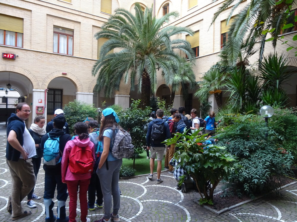 Départ pour notre dernière journée à Rome
