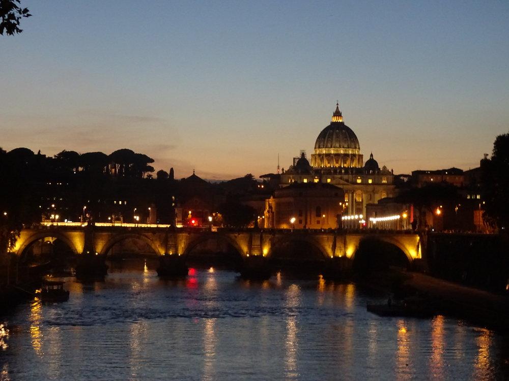 Pour le retour : Rome by night