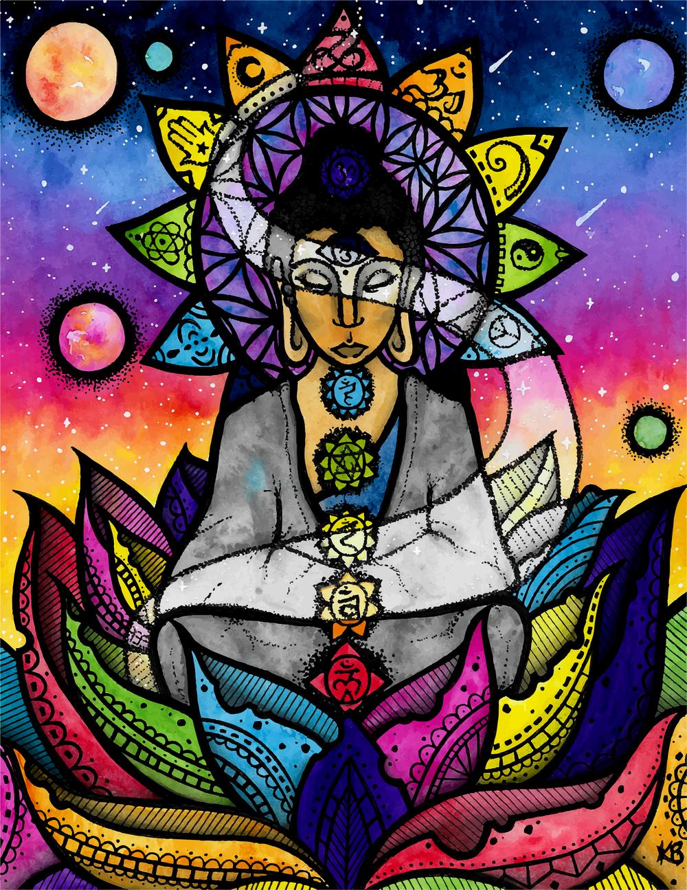 Energy Buddha