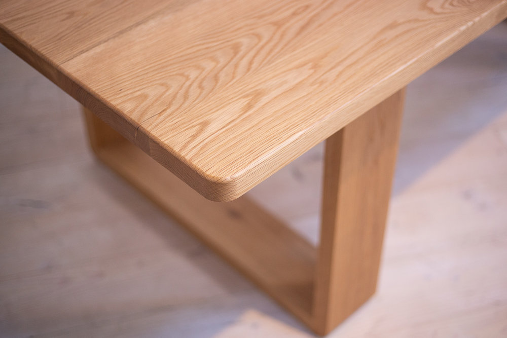 The Olson American White Oak Dining Table