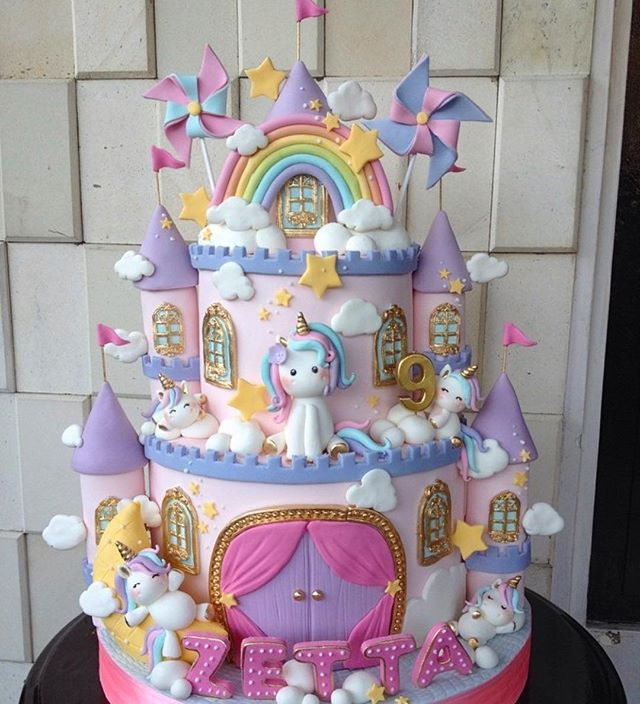 Oh wow 😍 @momsrecipebali this is the most amazingly magical cake I've ever seen! Unicorn heaven! 🥳🦄