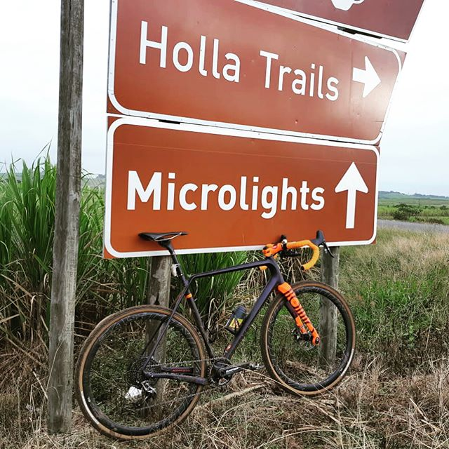 Which Ruut for the Rondo today? How about @holla_trails eggplant & orange route #rondoruut #gravelgrinder #gravel #eastoncycling