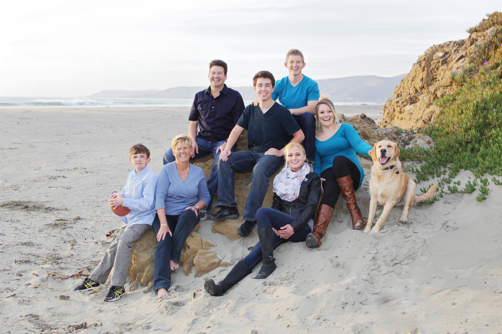 King Family in Cayucos.JPG