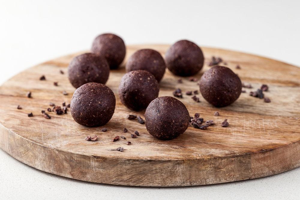 Choc-Hazelnut Bliss Balls_Fed for Wellness