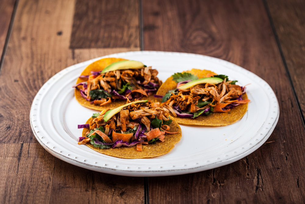 Vegan and Gluten Free Tacos