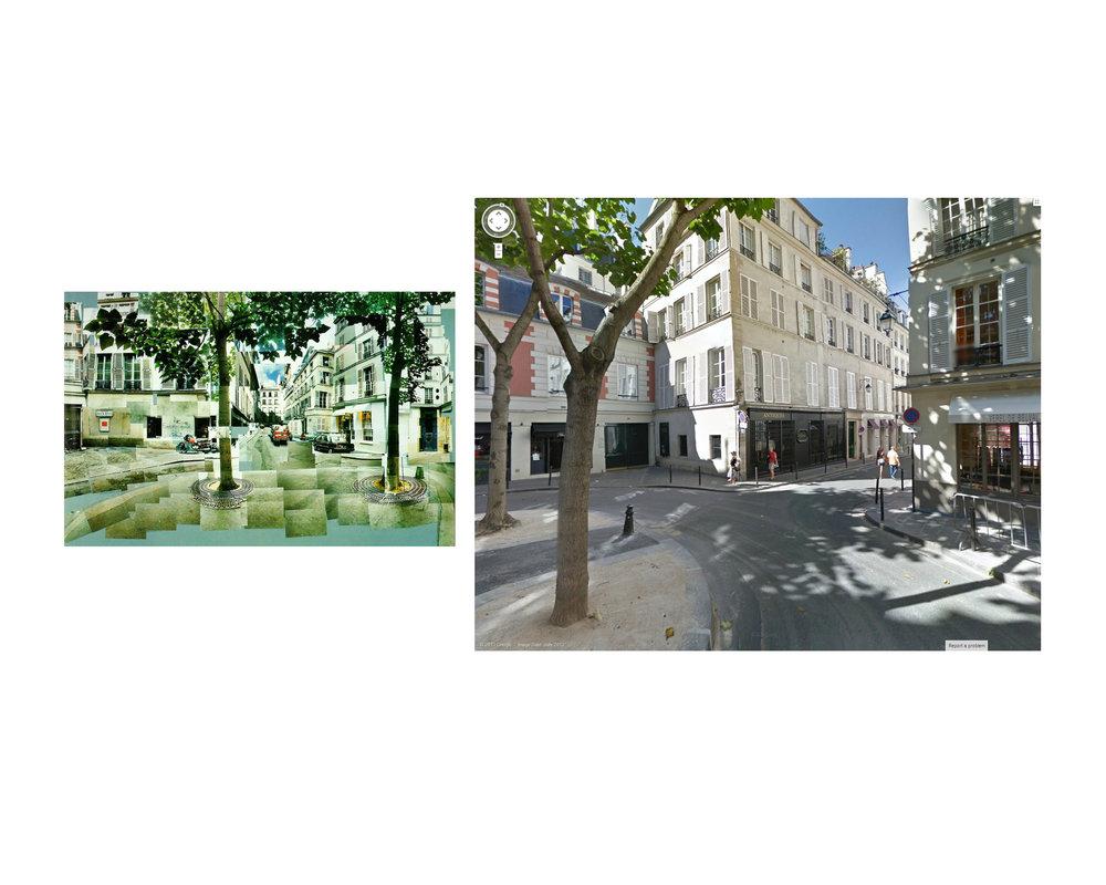 David Hockney, Paris 1985