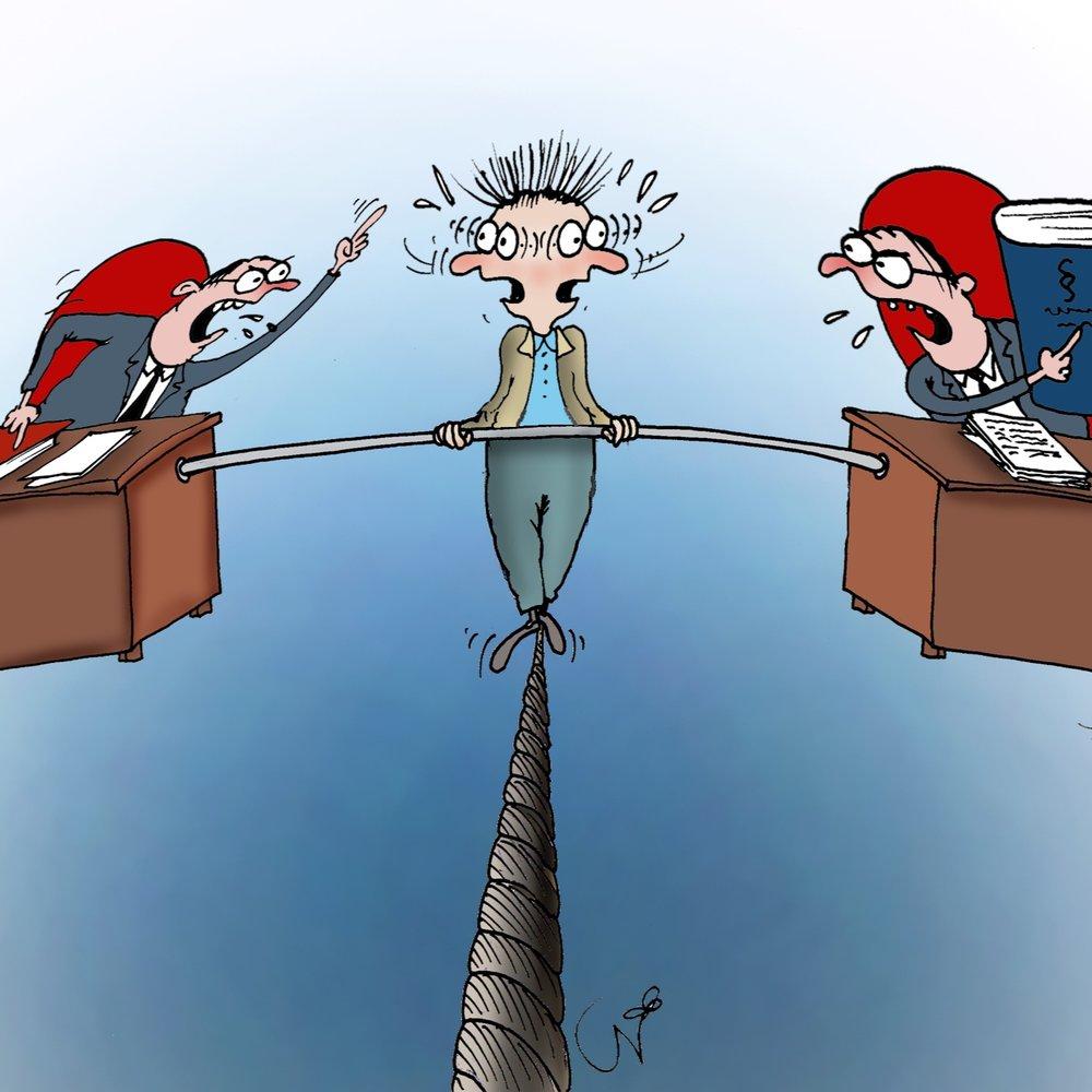 22.12   (illustratsioon: Urmas Nemvalts)   Usume, et riigireformi puhul võidab igaüks sellest, kui jääb vähemaks tarbetuid piiranguid, keelde ja käske ning bürokraatiat.