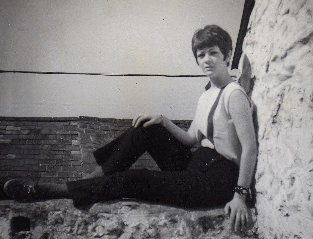 Mum in 1967.