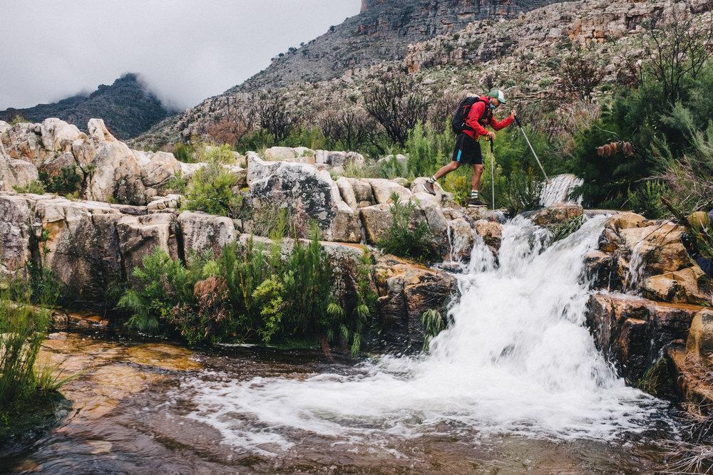 Tauriq crossing the last river.