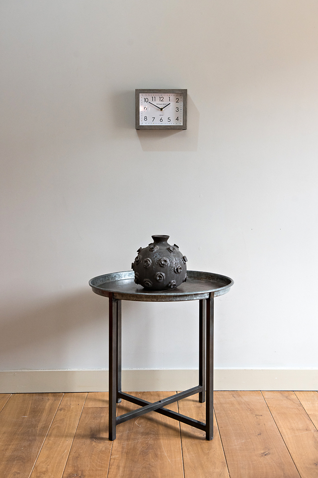 Clock Urchin Vessel Folding Table -