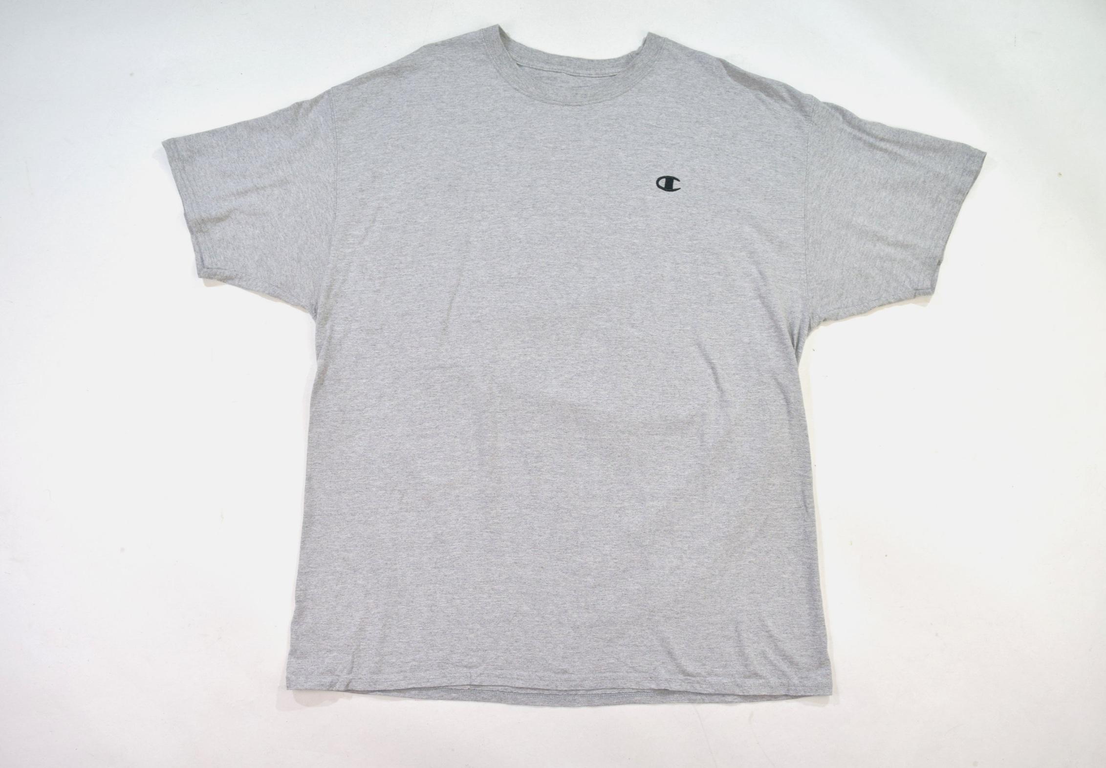708dc6c5 Grey Champion Crew Neck T Shirt — Headlock Vintage