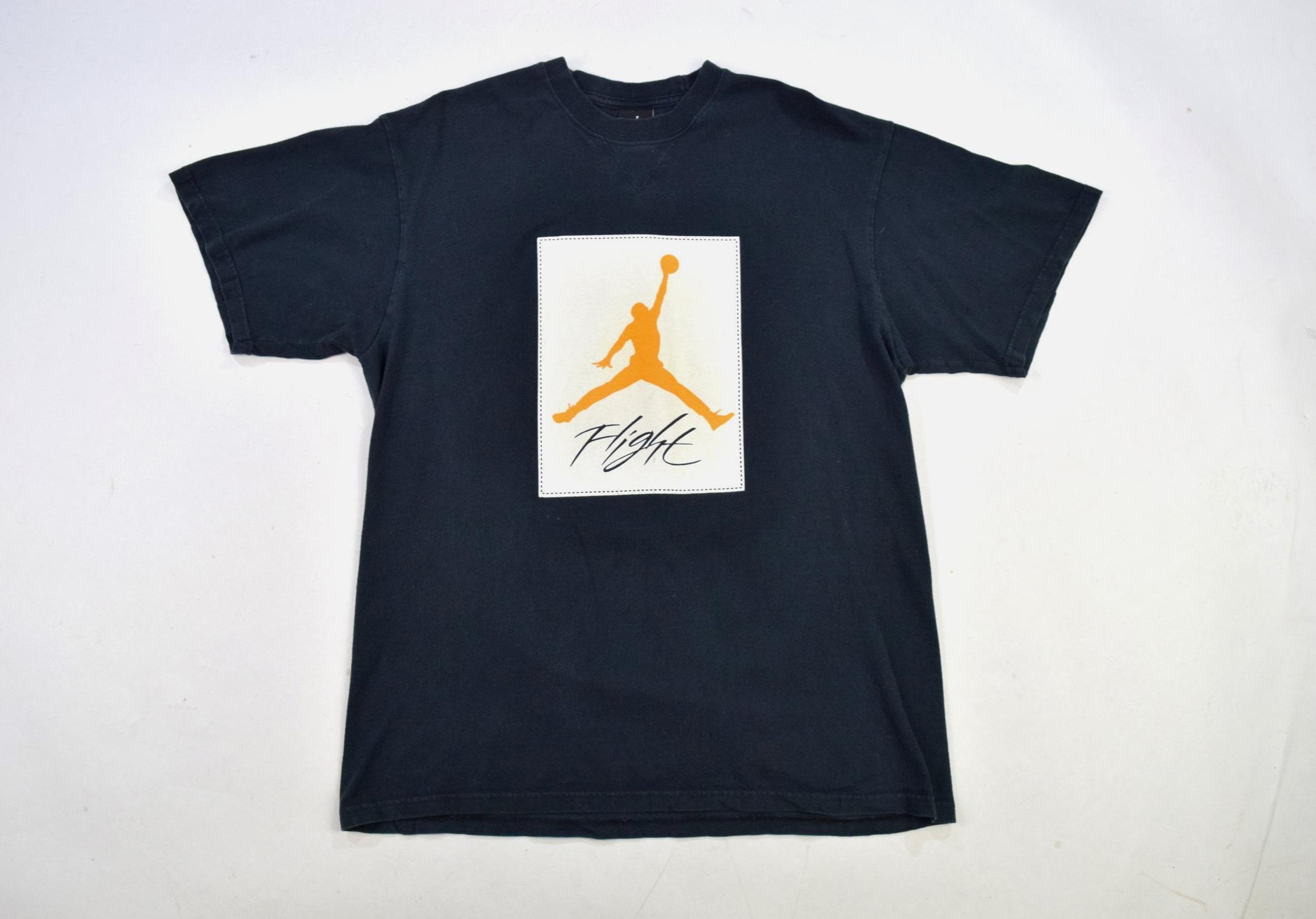 85115c85dd29 Black Air Jordan  Flight  Crew Neck T Shirt — Headlock Vintage