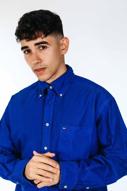 0f6801fbe Blue Tommy Hilfiger Shirt ...