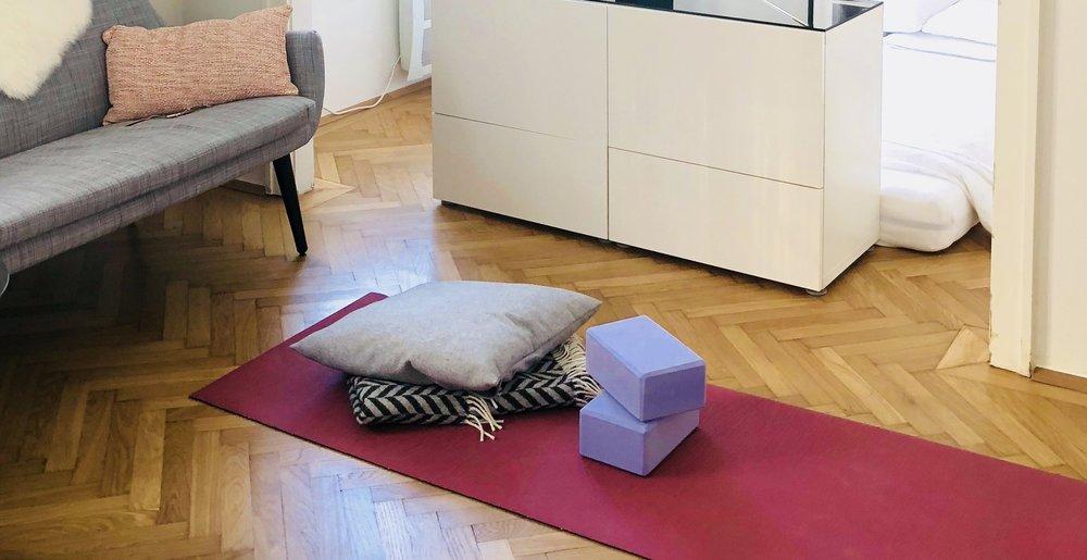 Private yoga- und meditationsstunden im herzen von wien