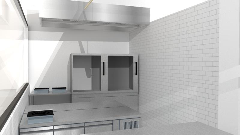 Private workspace - Small Private Kitchen