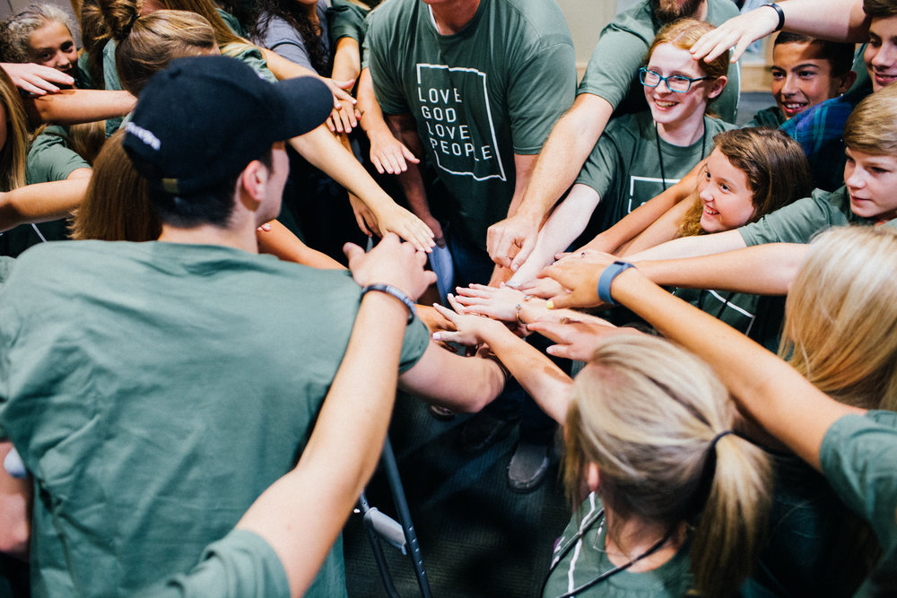 Students - On Sundays, students in grades 6-12 attend the 9:15 AM worship service. At 10:50 AM, they meet for lifegroups in the Celebration Room (1st floor). On Wednesdays at 6:30 PM, students gather in the Celebration Room for their own time of community.