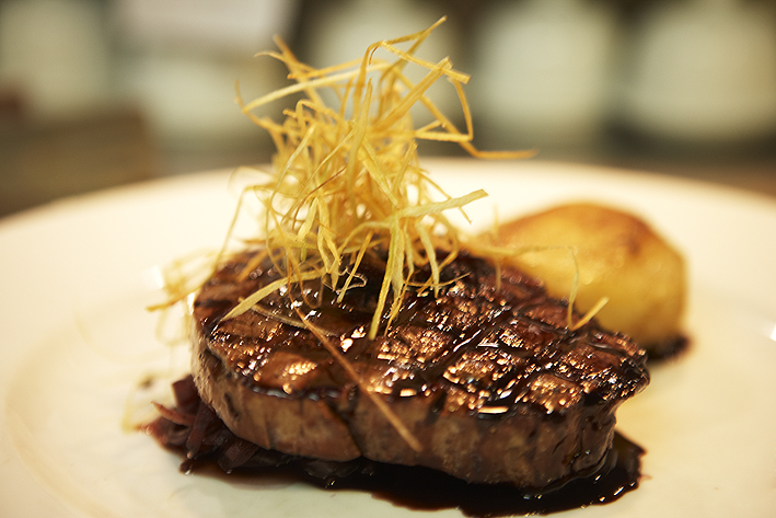 Shiraz Glazed Fillet Steak Main Course