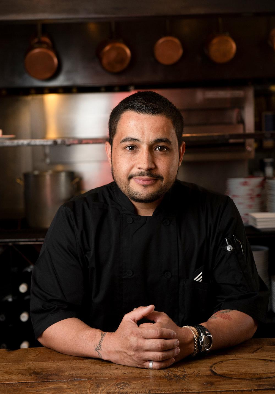 Chef Luis Marquez of Bouche Bistro