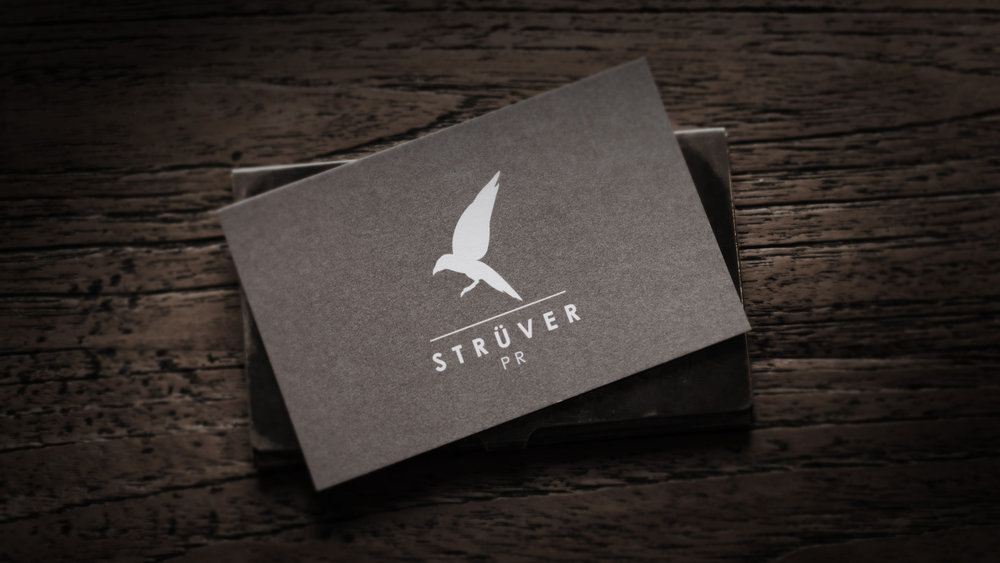 Strüver PR - Corporate Design & Visienkarten
