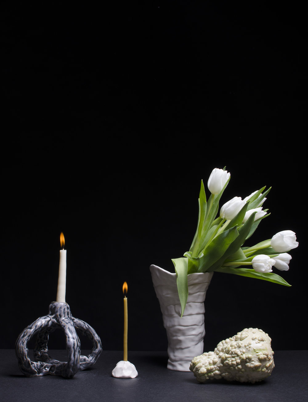 tulips two candles gourd.jpg