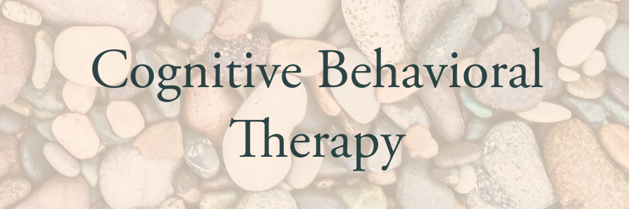 - For patients with depression, anxiety, and related disorders, I utilize Cognitive Behavioral Therapy (CBT). including Exposure Response and Prevention Therapy. LEARN MORE