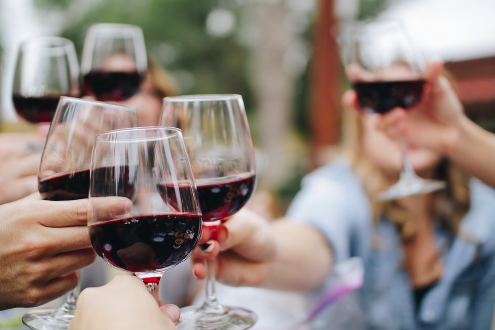 We may brew beer, but we love wine, too. We'll have a happy variety of wines for you to enjoy.