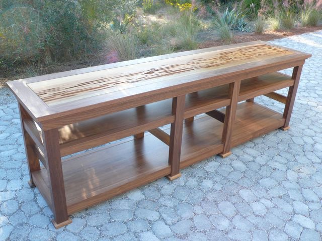 Pecky Console Table