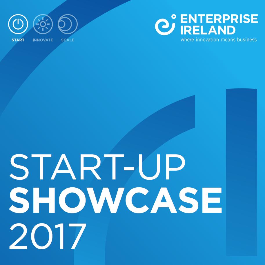 Featured in the Enterprise Ireland startup showcase 2017    Feb 2017