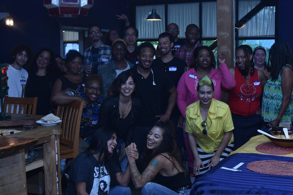 Reparations Happy Hour - SUCCESS! We had 40 Black, Brown, and Indigenous people attend our inaugural event and who received $400 in Reparations. Cameron gave an excellent presentation and the social environment was light and focused on healing.